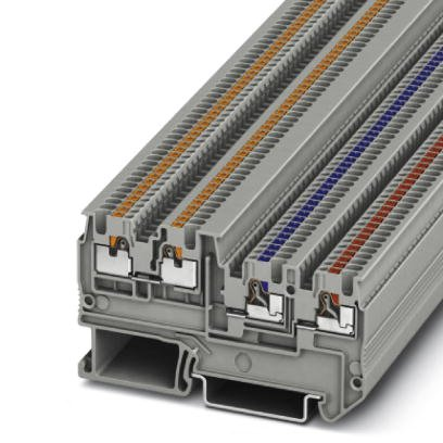 Bornes para Sensores/ Atuadores - PTIO 1,5/S/3 - 3244410 - Phoenix Contact
