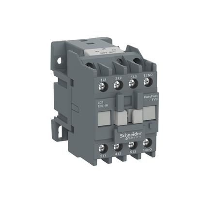 Contactor Tripolar Tesys E 220VCA 1NF 6A 50/60HZ - LC1E0601M7 - Schneider-Electric