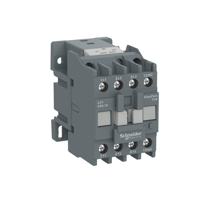 Contactor Tripolar Tesys E 24VCA 1NA 60HZ - LC1E0910B7 - Schneider-Electric