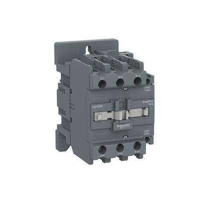 Contactor Tripolar Tesys E 220VCA 1NA+1NF 65A 50/60HZ - LC1E65M7 - Schneider-Electric
