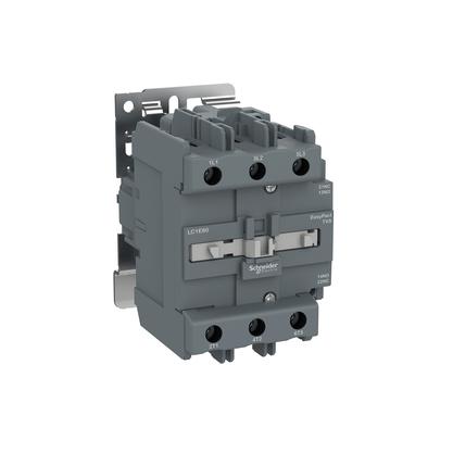 Contactor Tripolar Tesys E 24VCA 1NA+1NF 80A 50/60HZ - LC1E80B7 - Schneider-Electric