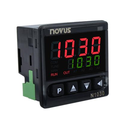 Controlador Temperatura N1030-PR Bivolt Pt100/J/K/T - 1 Relé SPST + Pulso - 8103000002 - Novus