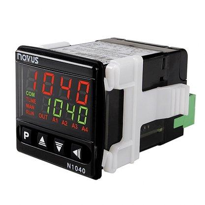 Controlador Temperatura N1040-PRR USB Pt100/J/K/T - 2 Relés SPST + Pulso - 8104211200 - Novus