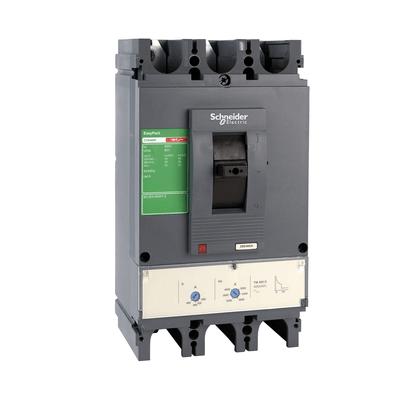 Disjuntor Tripolar Caixa Moldada Ajustável 315-630A - CVS630F3630 - Schneider-Electric