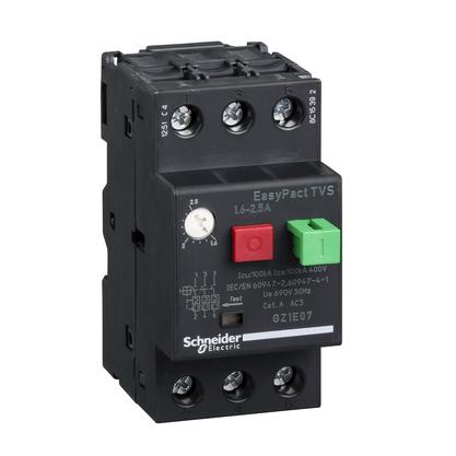 Disjuntor Motor Termomagnético 1,6 - 2,5A - GZ1E07 - Schneider-Electric