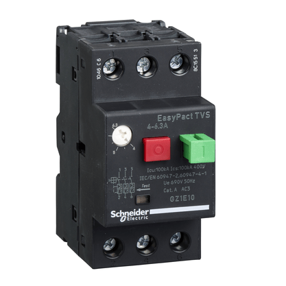Disjuntor Motor Termomagnético 4 - 6A - GZ1E10 - Schneider-Electric