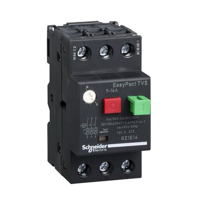 Disjuntor Motor Termomagnético 9 - 14A - GZ1E16 - Schneider-Electric