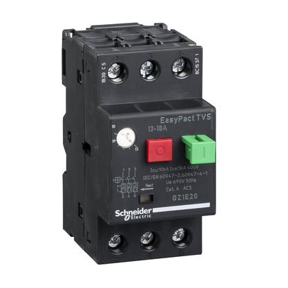 Disjuntor Motor Termomagnético 13 - 18A - GZ1E20 - Schneider-Electric