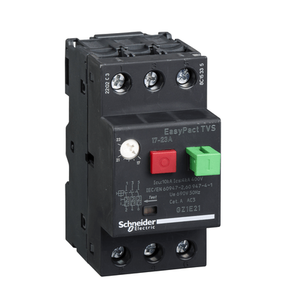Disjuntor Motor Termomagnético 17 - 23A - GZ1E21 - Schneider-Electric