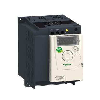 Inversor de Frequência 7.5A - 1.5KW - 2CV - Alimentação Monofásica 200-240V - ATV12HU15M2 - Schneider-Electric
