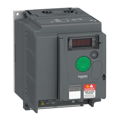 Inversor de Frequência - 1,5KW - 2CV - 380...460V - Trifásico - ATV310HU15N4E - Schneider-Electric