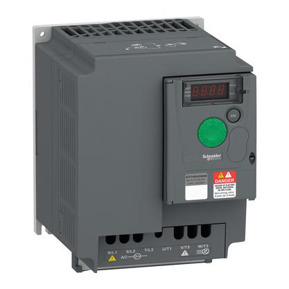 Inversor de Frequência - 5,5KW - 7,5CV - 380...460V - Trifásico - ATV310HU55N4E - Schneider-Electric