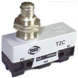 Micro Chave Fim de Curso NA+NF 15A / 250V - T2C - Turk