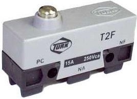 Micro Chave Fim de Curso NA+NF 15A / 250V - T2F - Turk