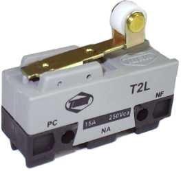 Micro Chave Fim de Curso NA+NF 15A / 250V - T2L - Turk