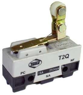 Micro Chave Fim de Curso NA+NF 15A / 250V - T2Q - Turk