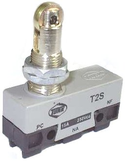 Micro Chave Fim de Curso NA+NF 15A / 250V - T2S - Turk