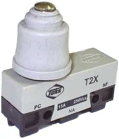 Micro Chave Fim de Curso NA+NF 15A / 250V - T2X - Turk