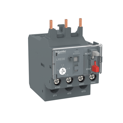 Rele Térmico Tesys E Classe 10 1.00-1.60A 1NA+1NF - LRE06 - Schneider-Electric