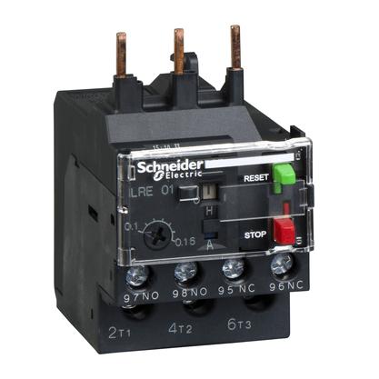 Rele Térmico Tesys E Classe 10 1.63-2.50A 1NA+1NF - LRE07 - Schneider-Electric