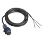 Sensor Fotoelétrico Difuso D18 PNP - NA - Sn=0,6 Metros  / Cabo 2 Metros - XUB5APANL2 - Telemecanique